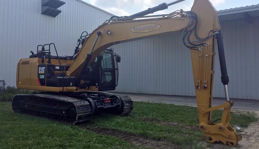 All Makes Rear Gear | Excavator High Rail Gear | RCE Rail