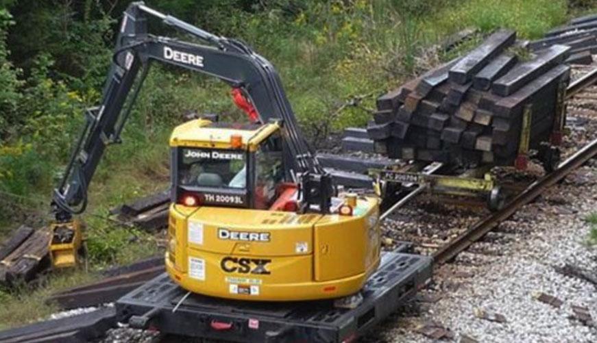 Tie Crane On Track Equipment Rce Rail Rce Equipment